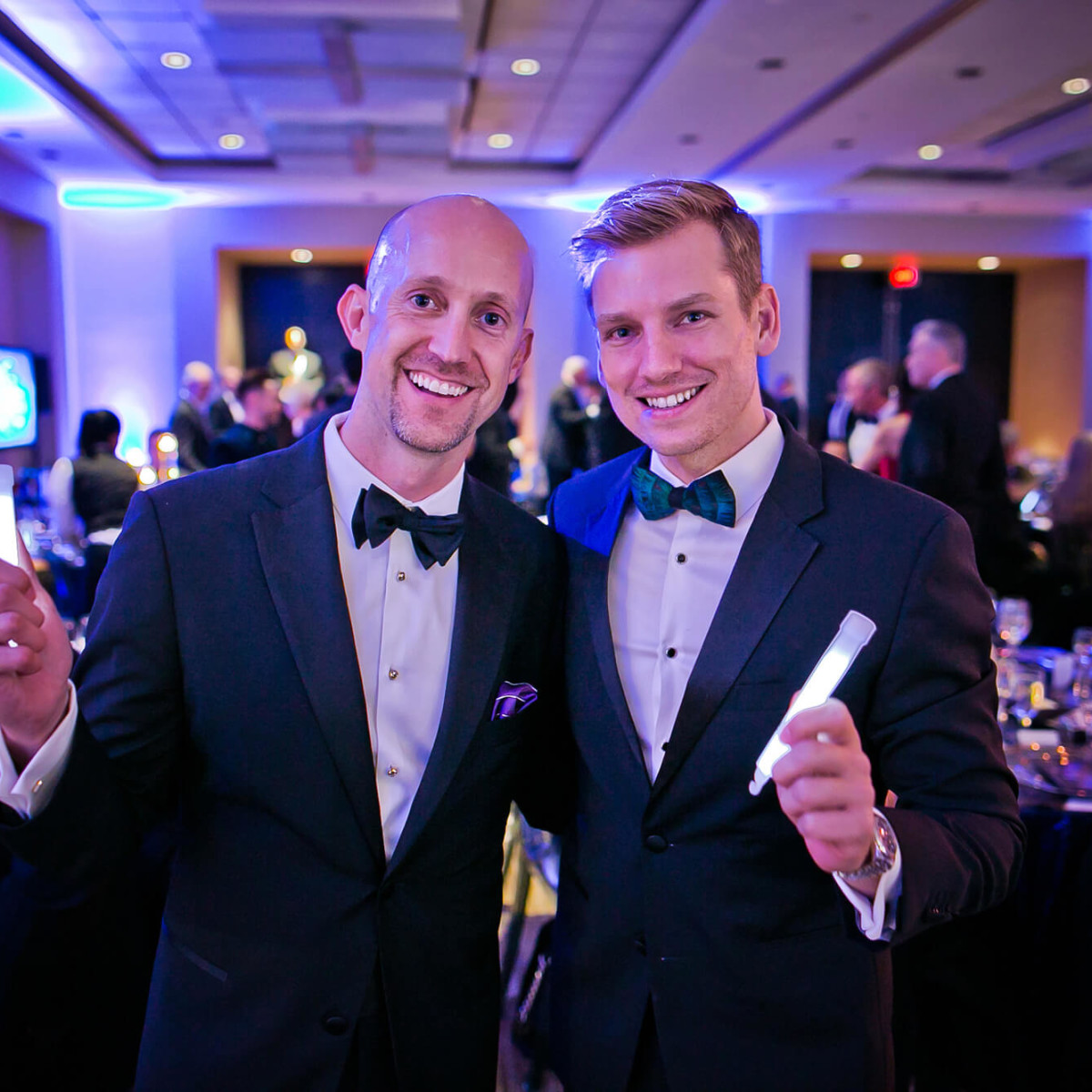 Houston, Sing for Hope gala, Nov. 2016, Mike Mahlstedt, Kyle Dutton