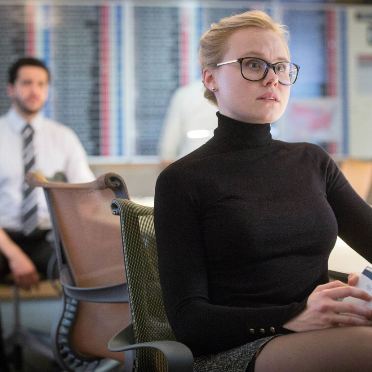 Alison Pill in Miss Sloane