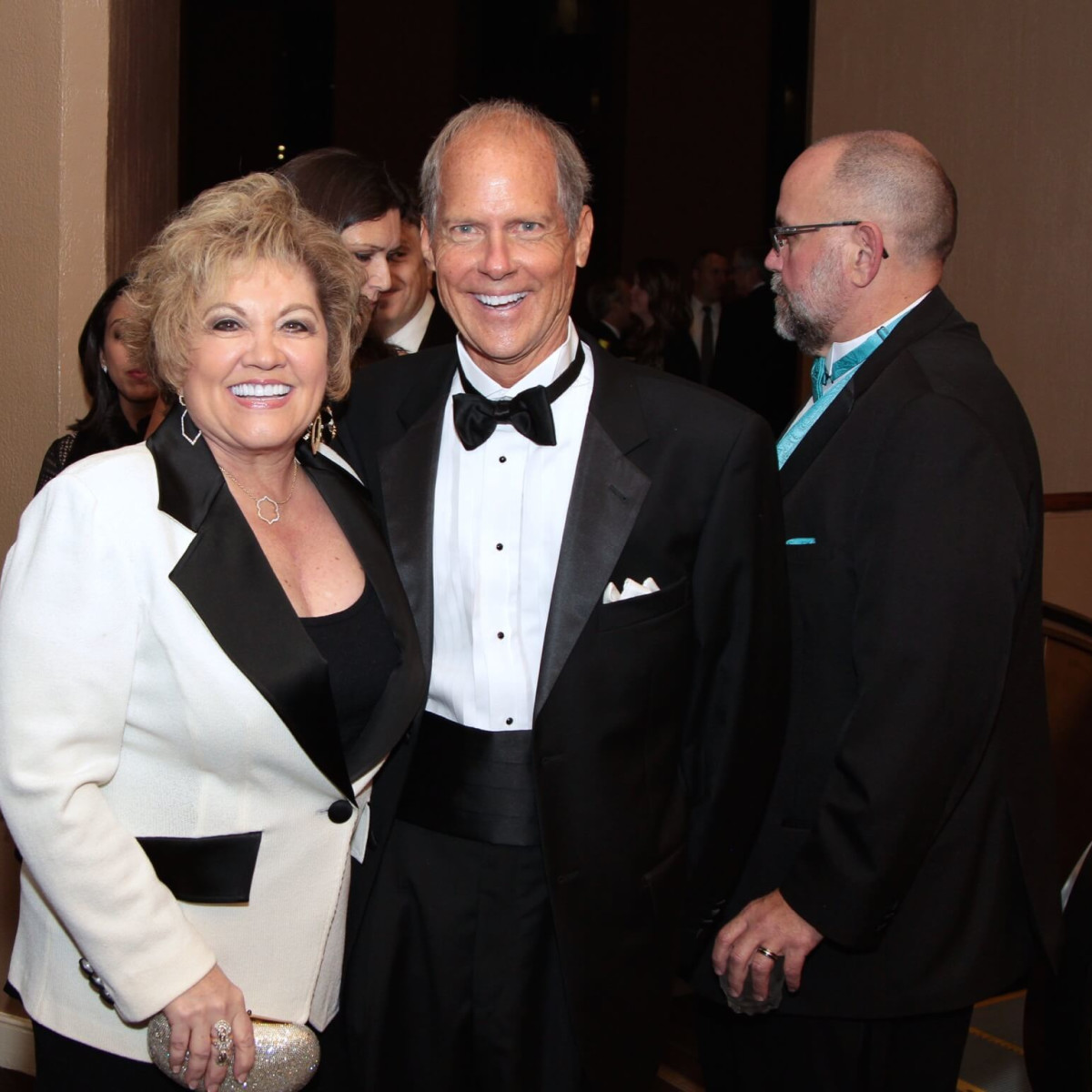 Houston Children's Charity 20th anniversary Edna Meyer-Nelson, Bill Whitehead