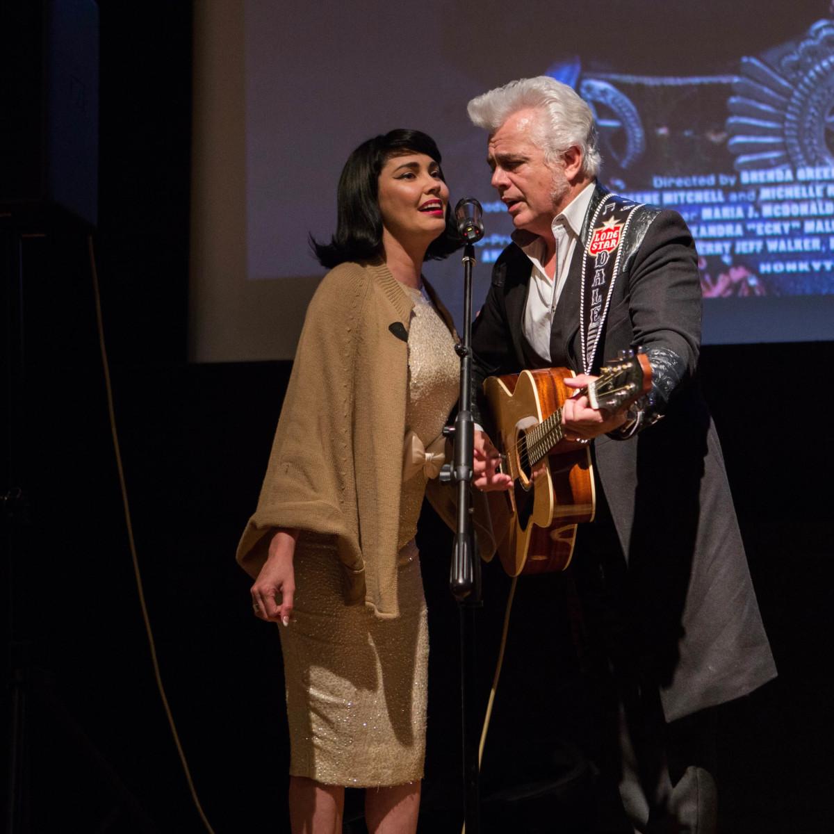 HCAF 2016 Opening Night-Celine Lee, Dale Watson;