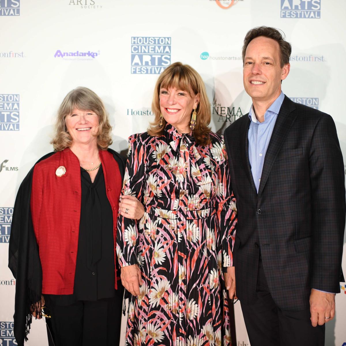 HCAF 2016 Opening Night-Judith Ivey, Franci Neely, Jake Heggie