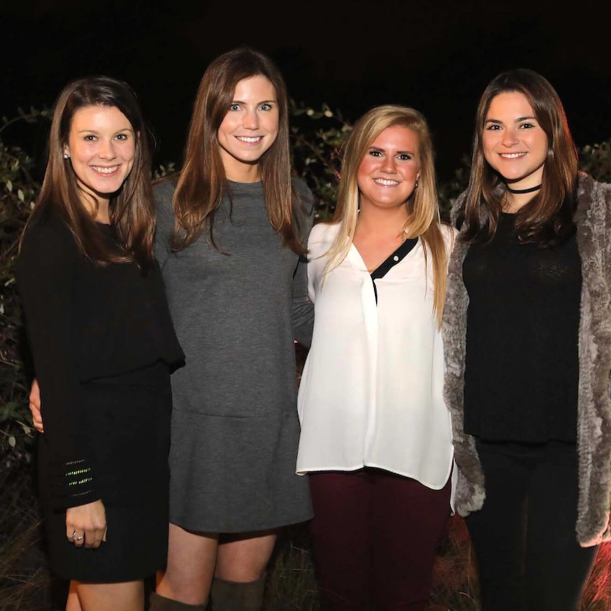 Houston, Urban Wild of Memorial Park Conservancy Bridge Bash, Nov. 2016, Katie Jernigan, Caroline Dawson, Molly McMurtry, Mary Ann Cuellar