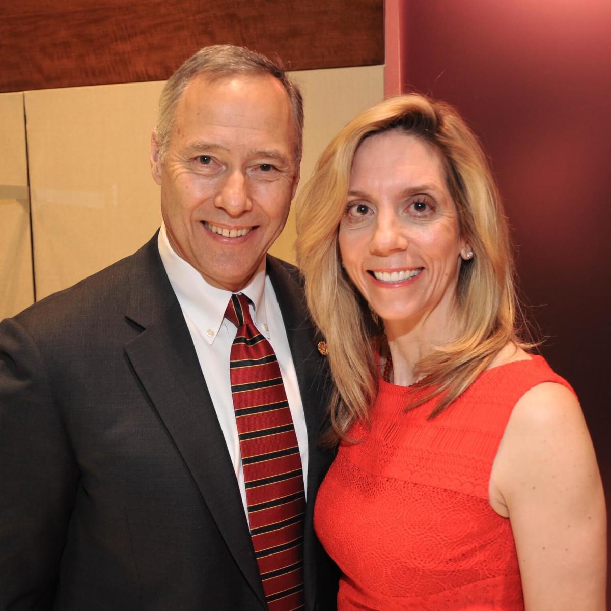 American Heart Association Circle of Red at Elizabeth Anthony, Mark Chapman, Dr. Bobbie Bogaev