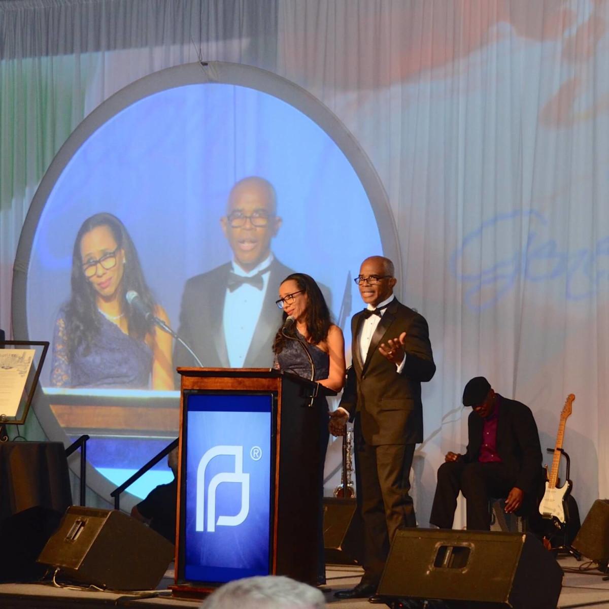 Planned Parenthood Gala, Gina Carroll, Jonathan Carroll