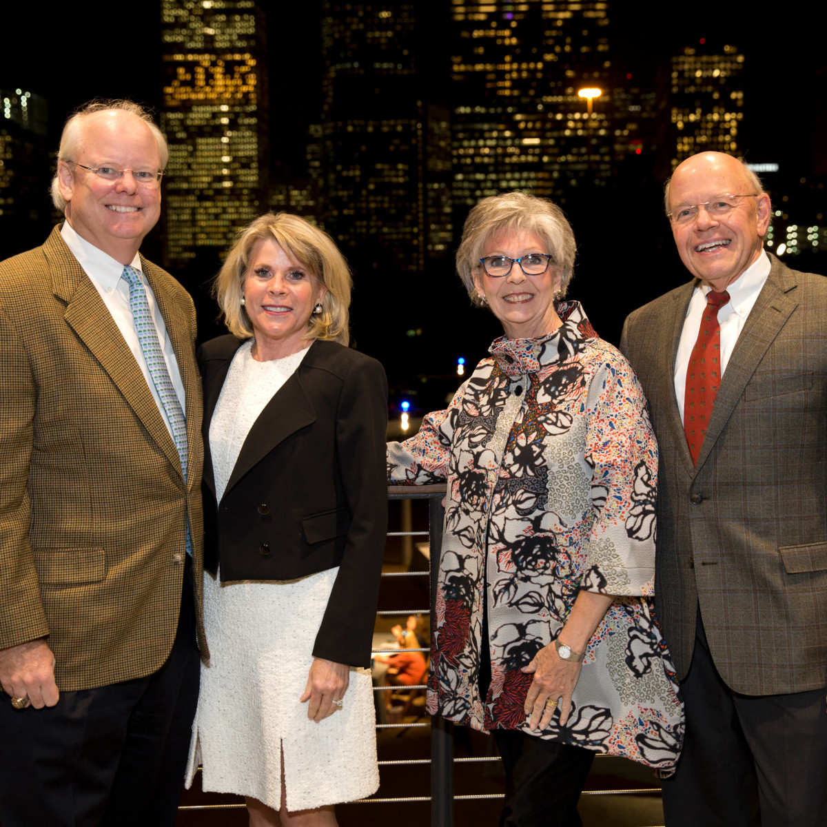 Houston, Buffalo Bayou Preservation gala, Nov. 2016, Brady Carruth, Zane Carruth, Gayle Eury, Bob Eury