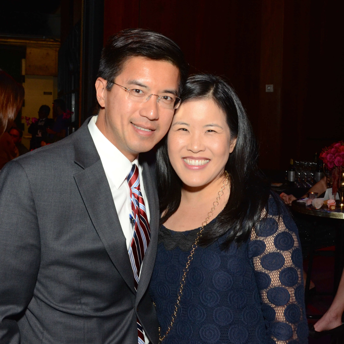 Houston, Society for Performing Arts gala, Nov. 2016, Michael Chu, Emily Kuo