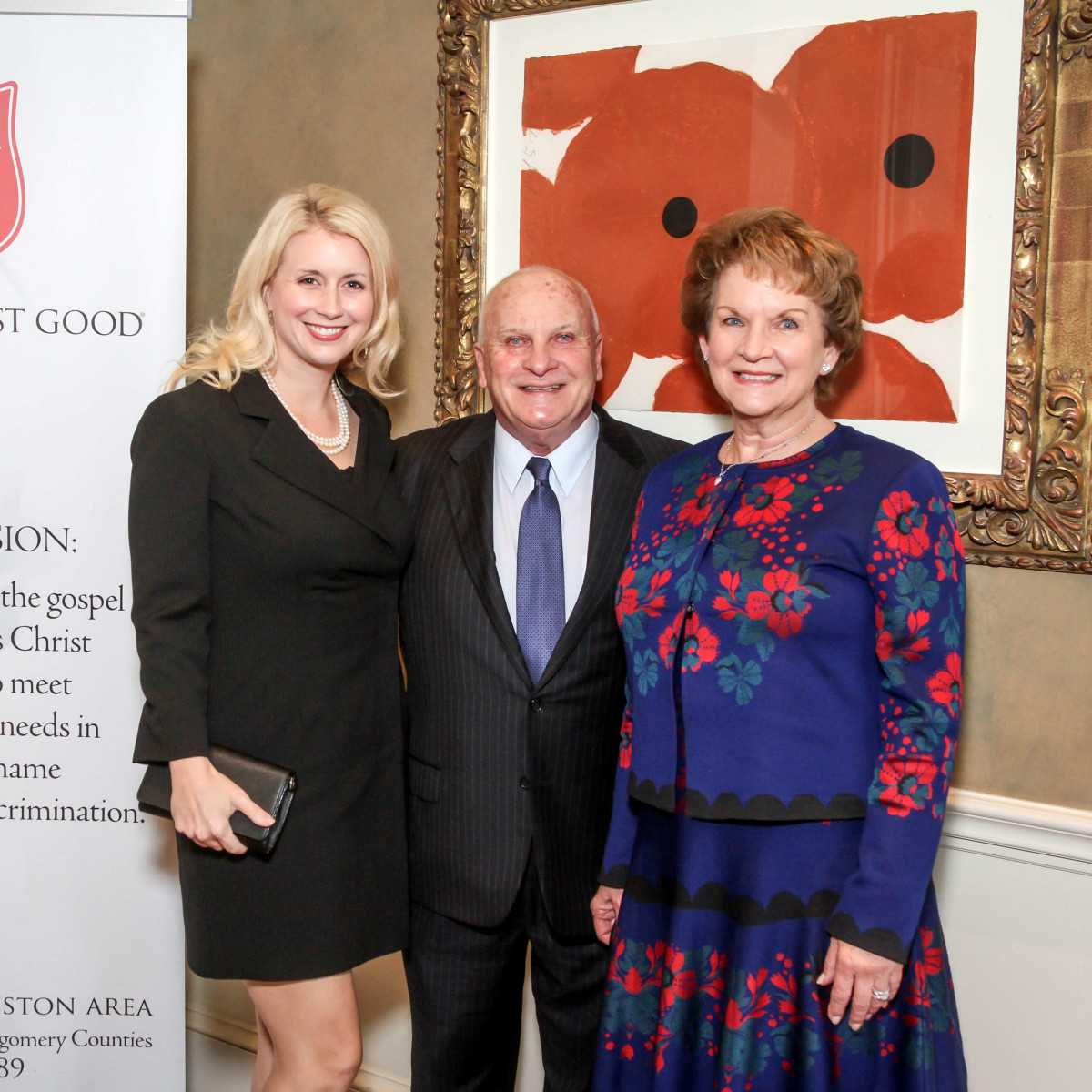 Houston, Salvation Army annual luncheon, Nov 2016, Sarah Wise, Jim Wise, Jane Wise