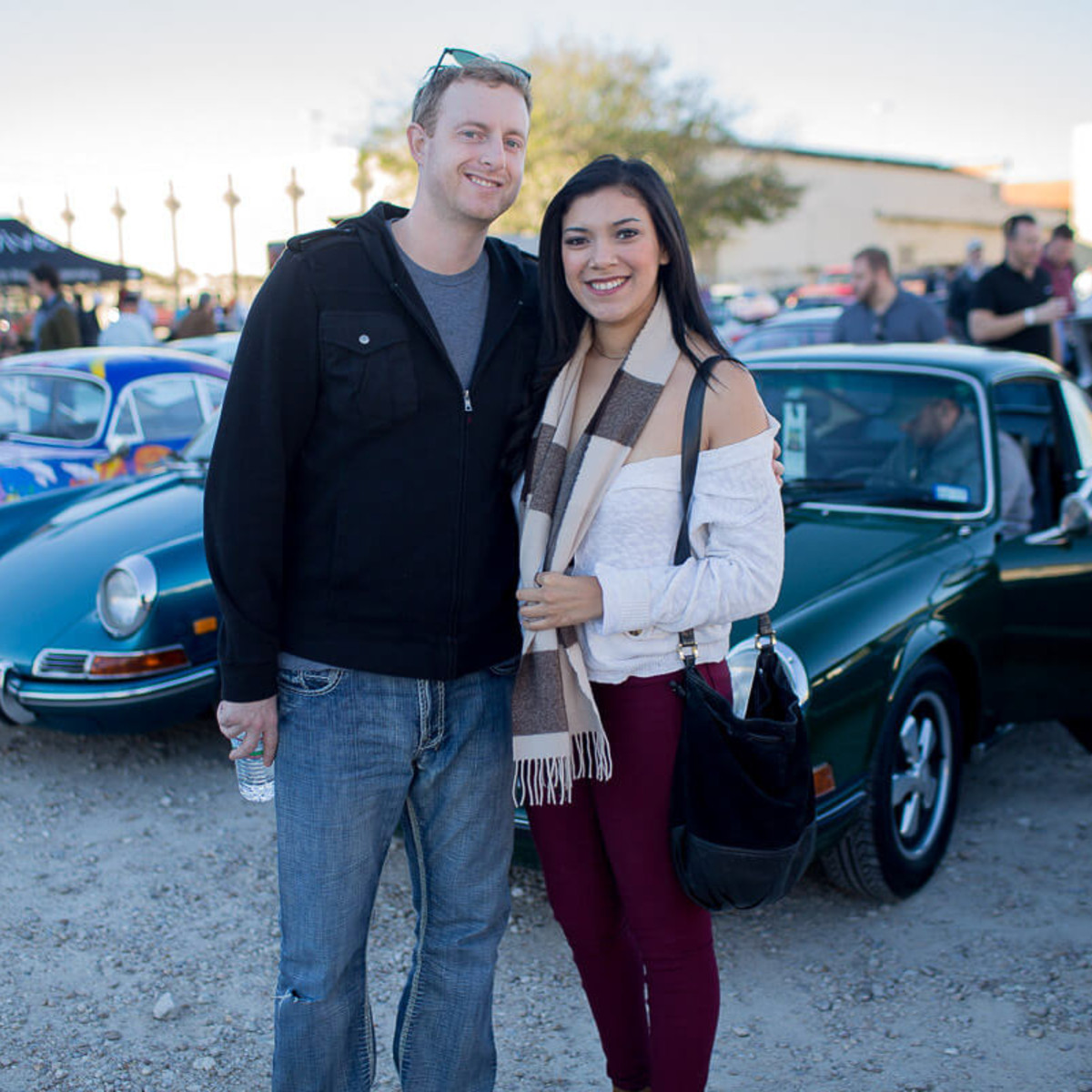 Houston, TejasTreffen Porsche event, Nov 2016, Brandon Schmitt, Genessis Martinez