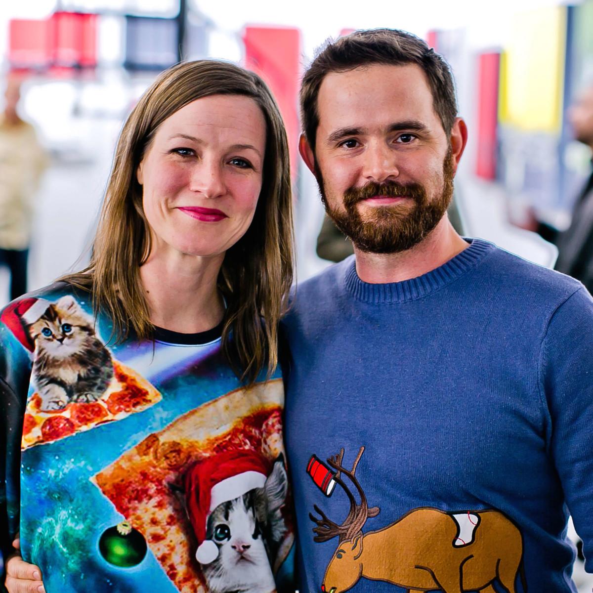 Houston, Fresh Arts Winter Holiday Art Market, Nov 2016, Katie Brittain, Stephen Brittain