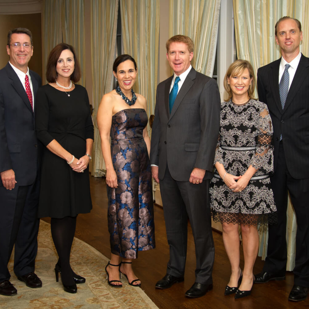 Houston, Legal Community's Harvest Celebration, Nov 2016, Tom Ganucheau, Lisa Ganucheau, Dana Levy Kelly, Neil Kelly, Denise Scofield, John Scofield