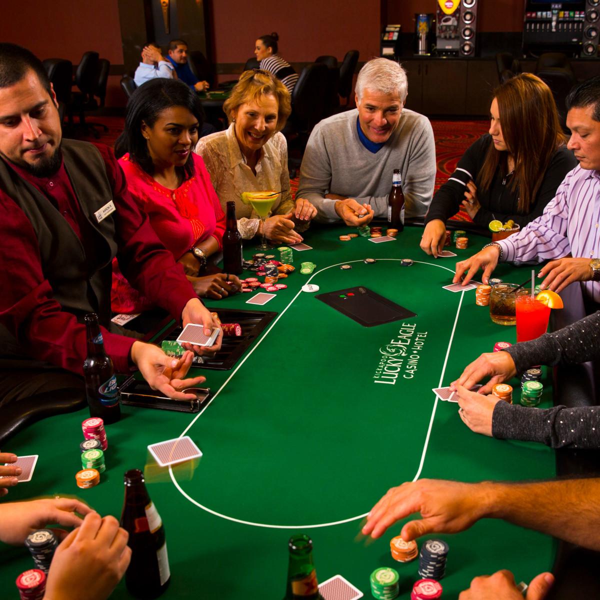 Kickapoo Lucky Eagle Casino gaming floor