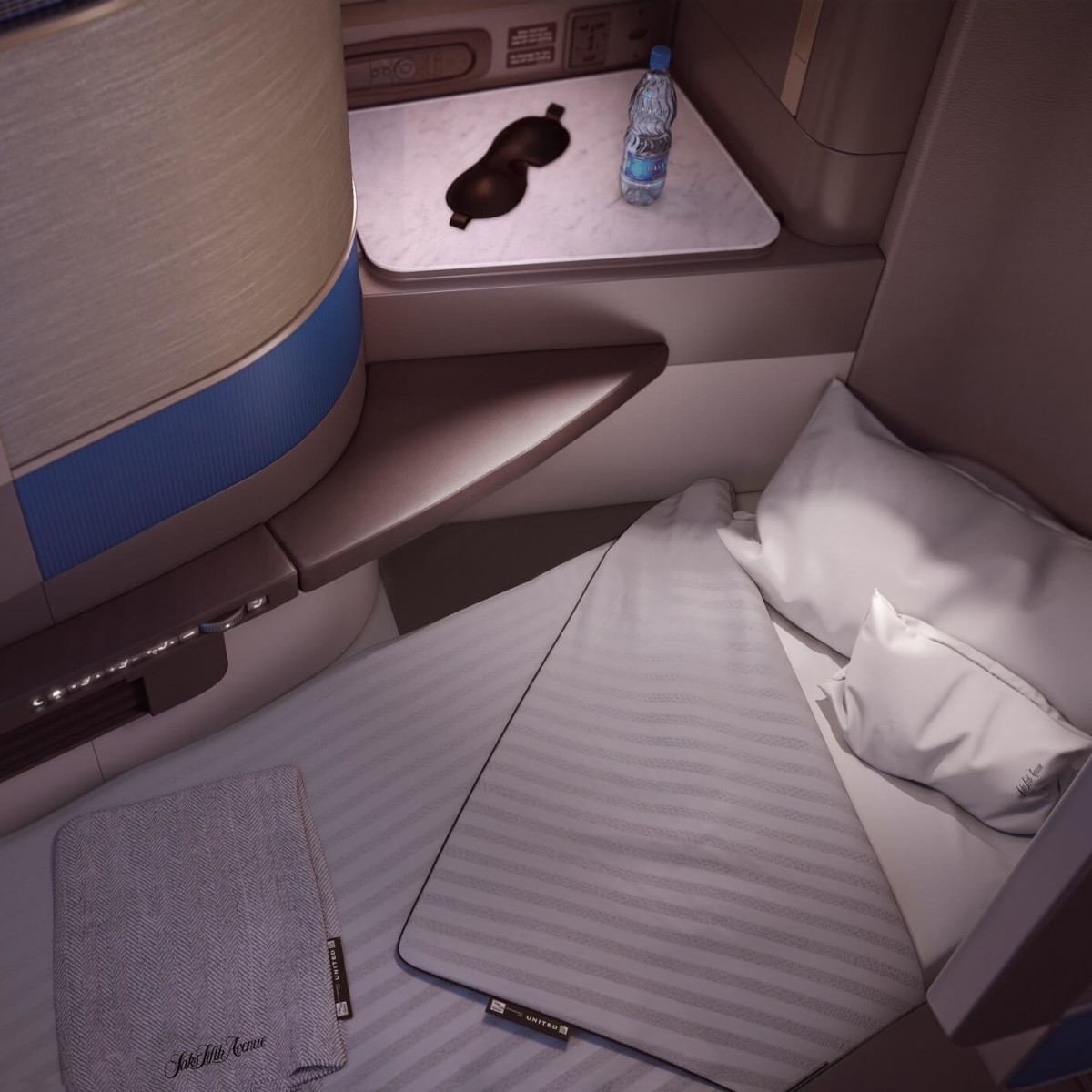 United Polaris bed service