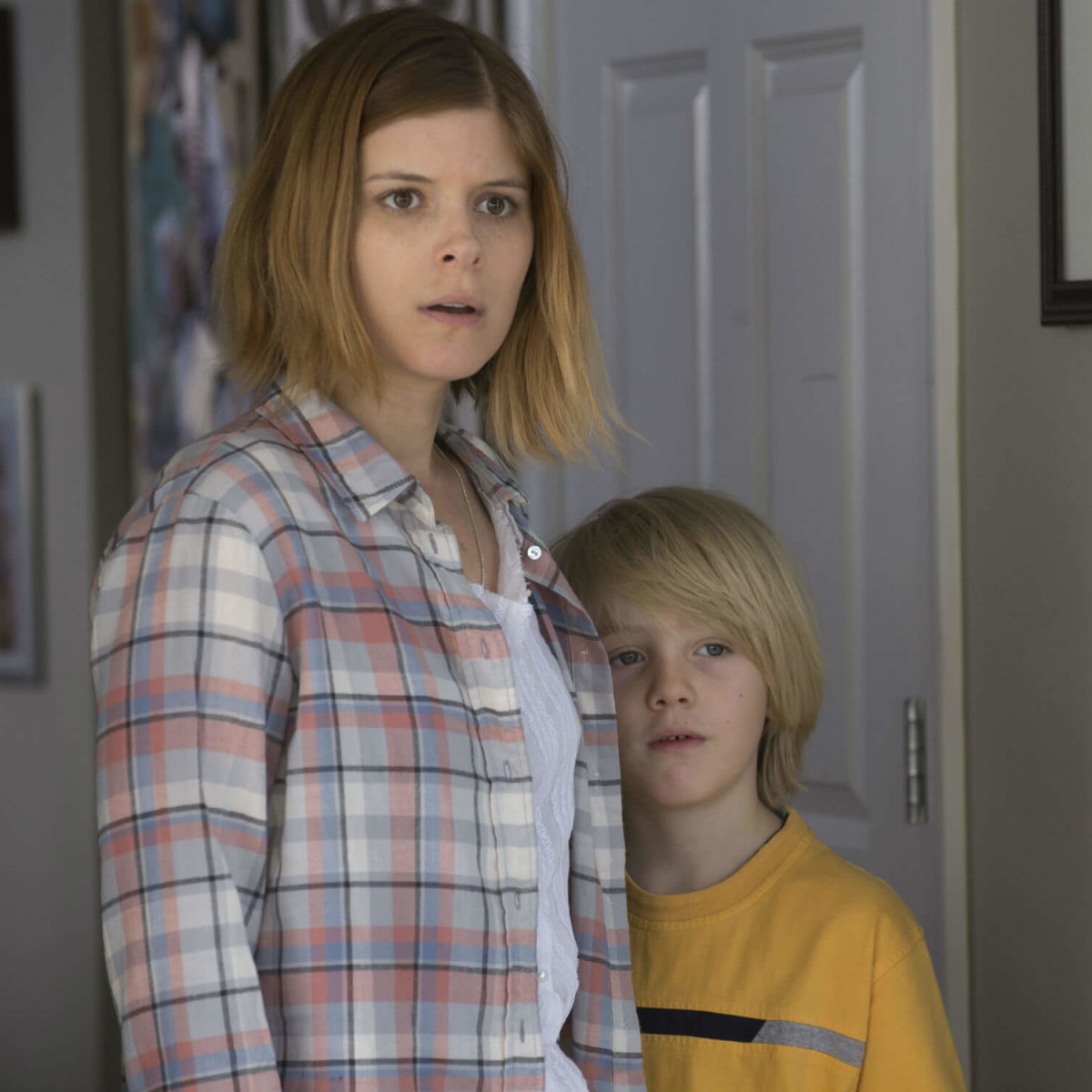 Kate Mara and Charlie Shotwell in Man Down