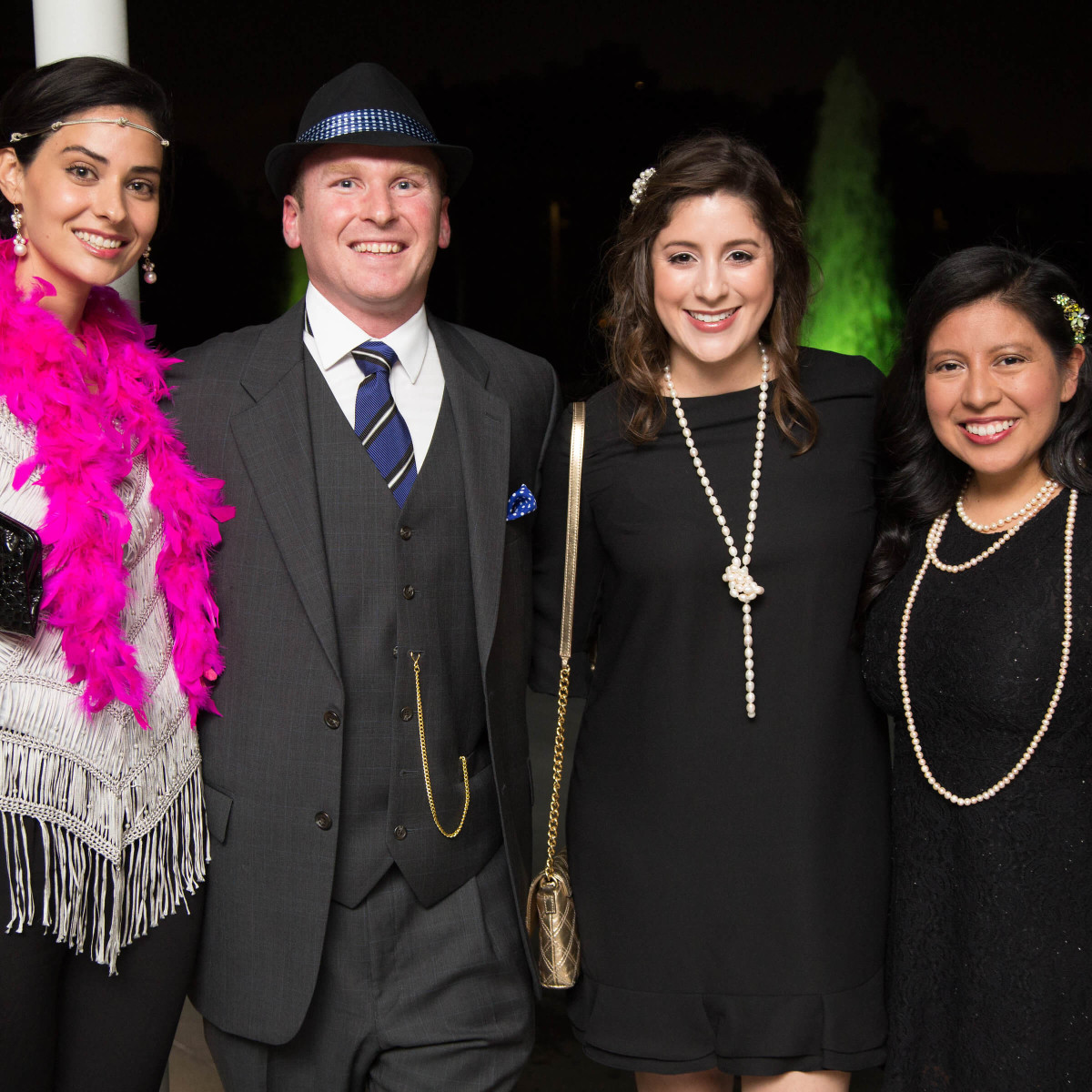 Houston, Urban Green's Gatsby in the Gardens, Nov 2016, Marisol Urrutia, David Gasstrelli, Madyson Chavez, Betty Christin