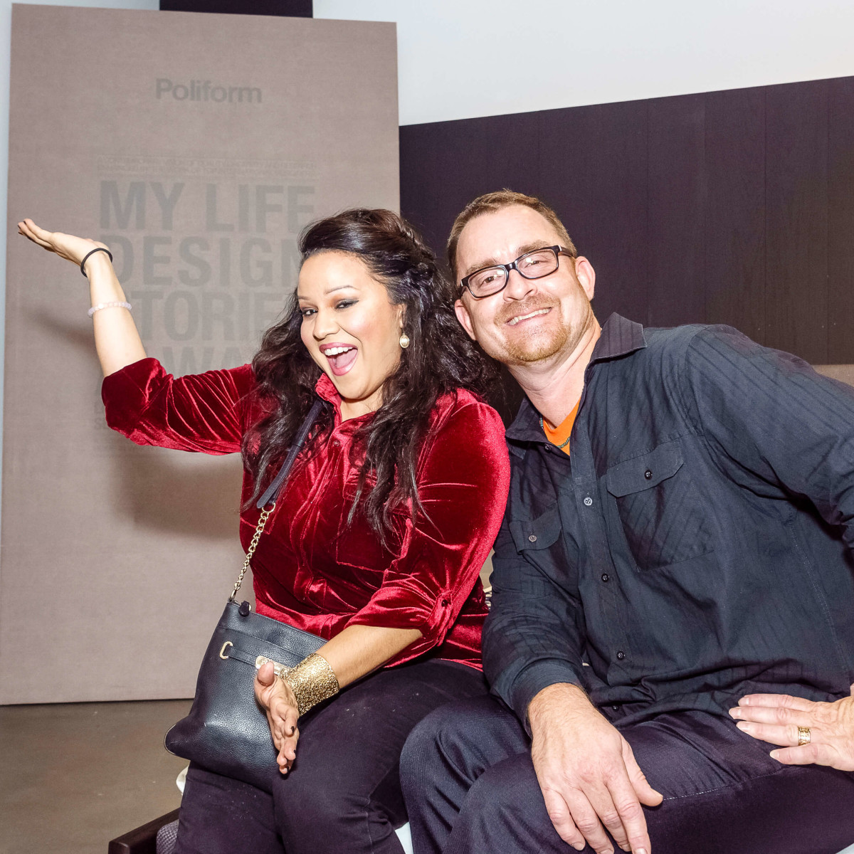 Houston, Mimosa Terrace launch event, Nov 2016, Jessica Almanza, George Gustin