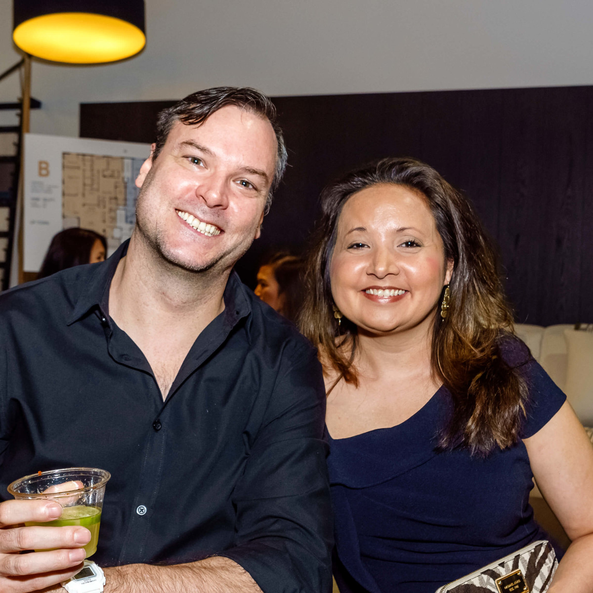 Houston, Mimosa Terrace launch event, Nov 2016, Jonah Sanders, Elizabeth Lee