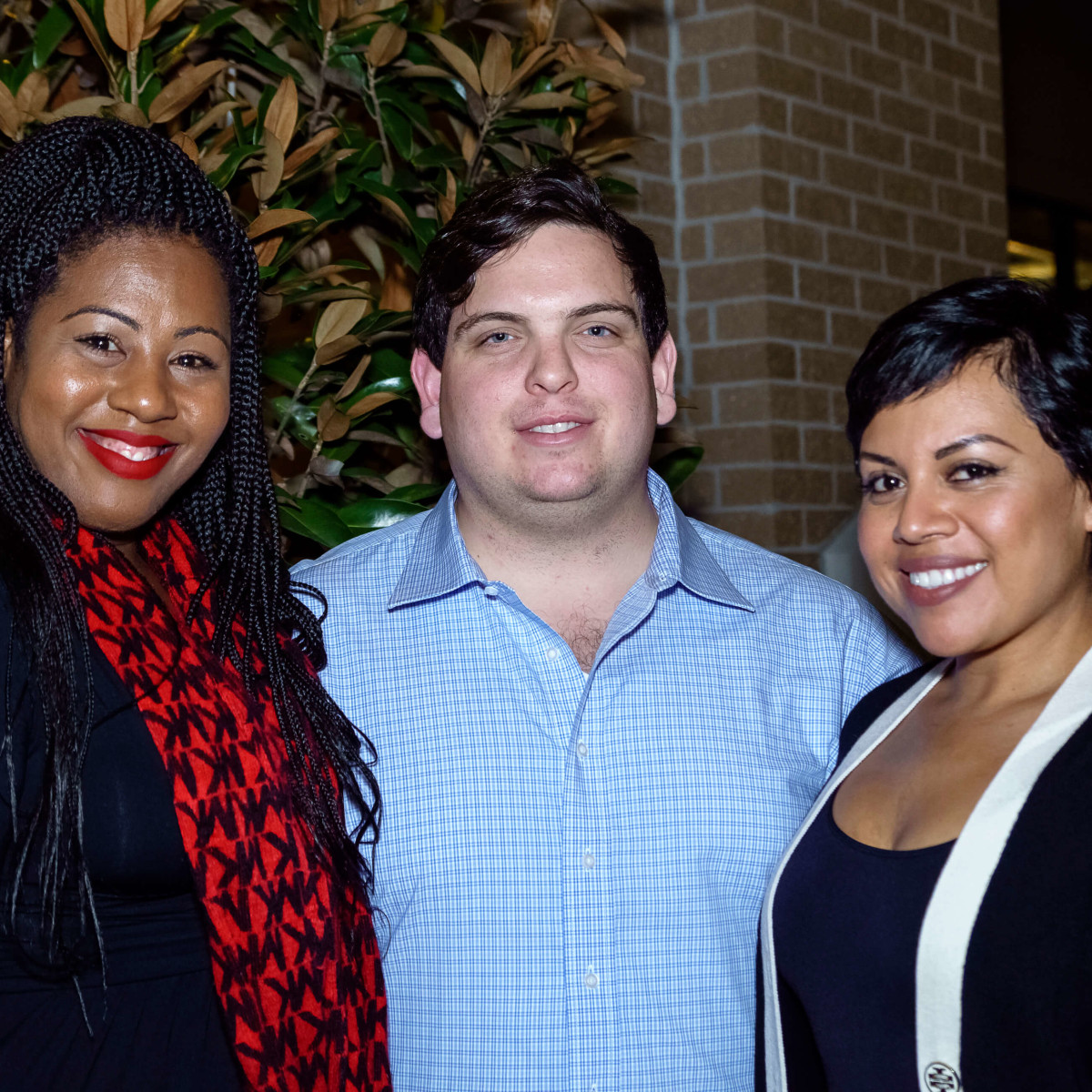 Houston, Mimosa Terrace launch event, Nov 2016, Simone Jackson, Hunter Wright, Claudia Colbert