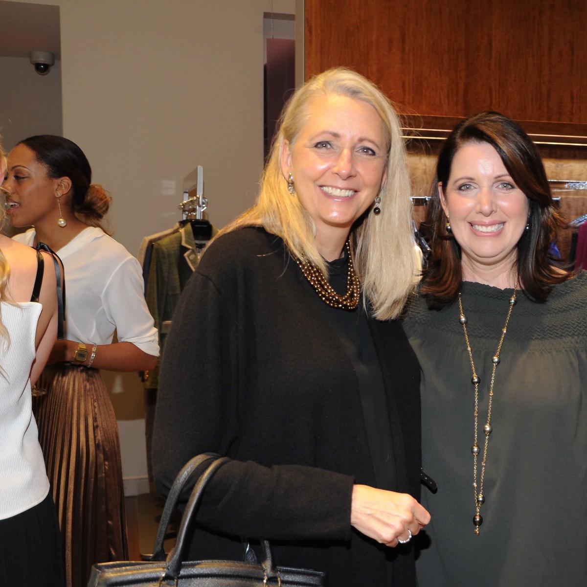 Tyler Ellis event, Elaine Stolte, Julie Roberts