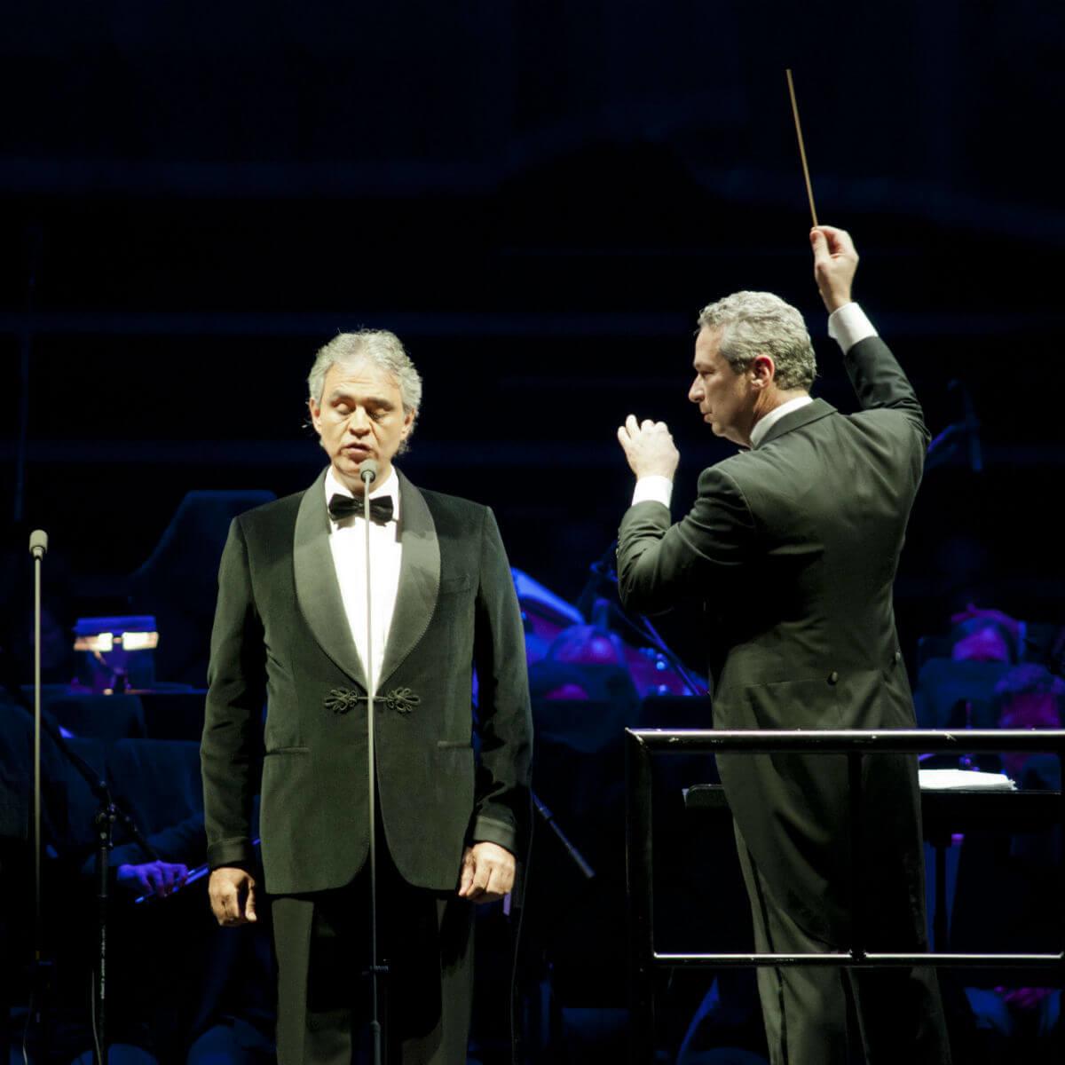 Andrea Bocelli, concert, November 2012