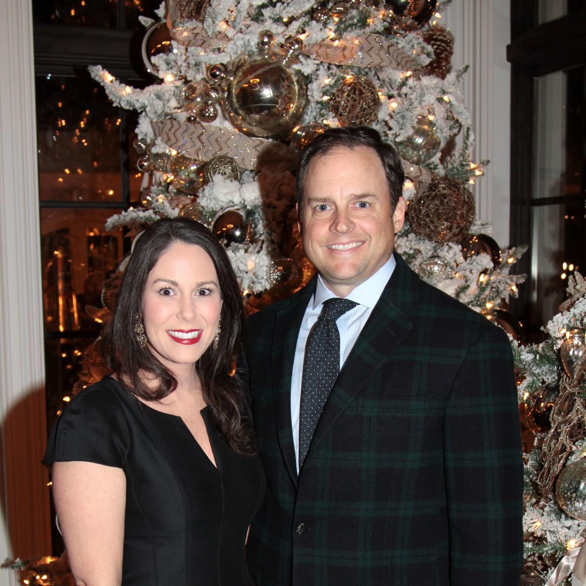 MD Anderson Santa's Elves party, Kristin Hamilton, Hugh Hamilton