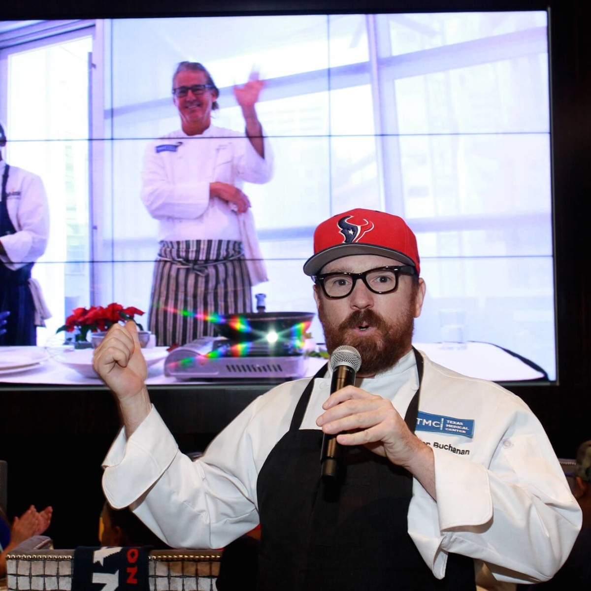 Taste of NFL brunch preview, Jon Buchanan, Robert Del Grande