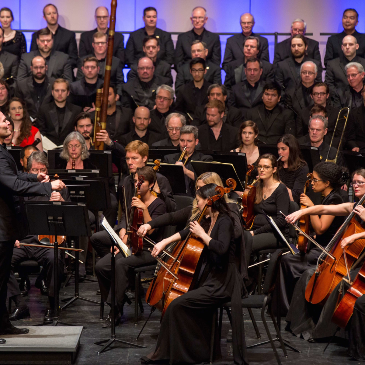 Mercury performs Beethoven's Symphony No. 9 at Wortham Theater Center
