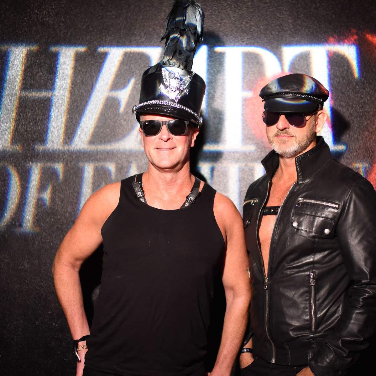 Shannon Hall, Marcus Sloan at Heart of Fashion Masquerade Ball