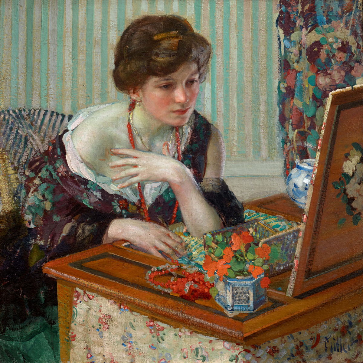 Two Centuries of American Still-Life Painting: Richard Edward Miller