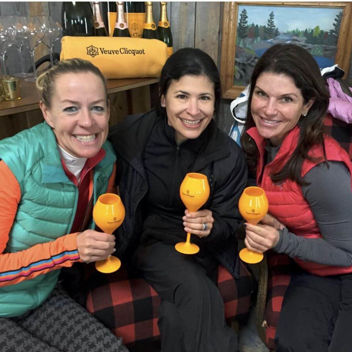 Rosemary Schatman, Kristy Bradshaw and Laura Davenport