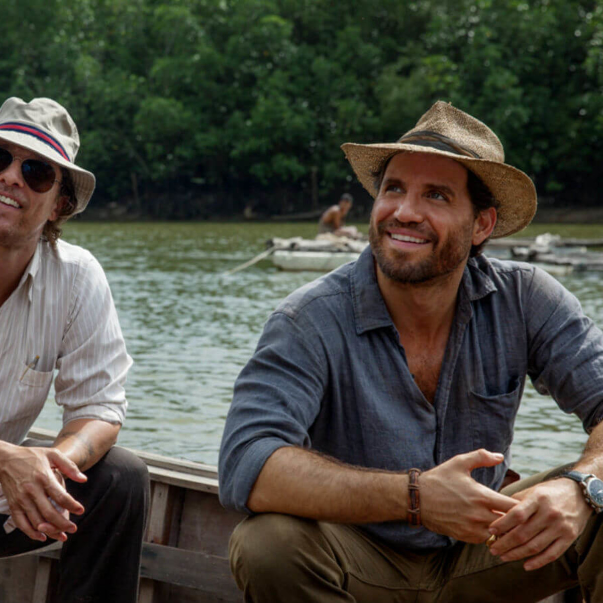 Matthew McConaughey and Edgar Ramirez in Gold