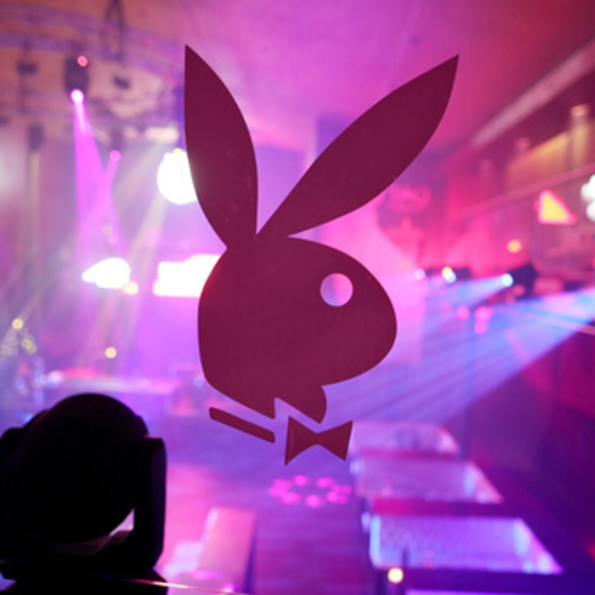 Houston, Playboy and Tao Super Bowl Party, Jan 2017, playboy logo