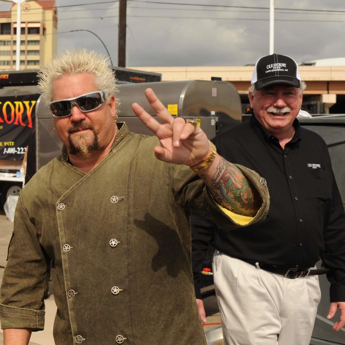Players Tailgate Guy Fieri