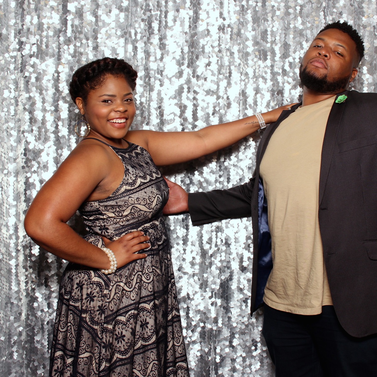 Houston, Big Brothers Big Sisters YP The Big Prom, Feb 2017, Faith Brooks, Myron Brooks