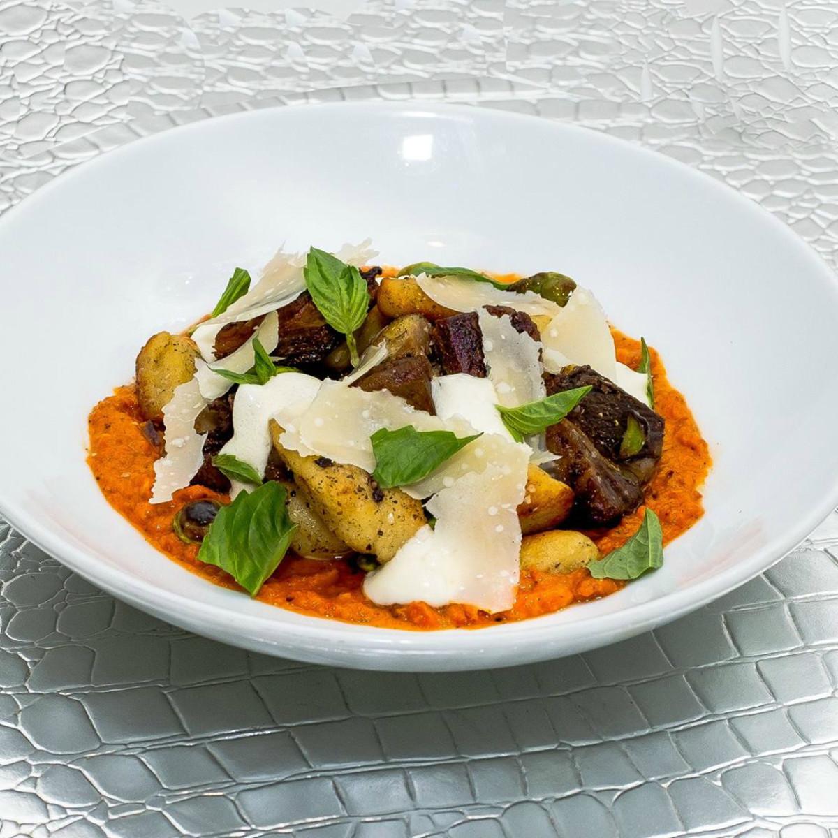 Feast San Antonio restaurant goat belly gnocchi