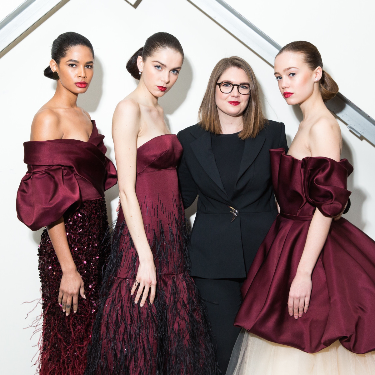 Elizabeth Kennedy fall collection 2017 with models