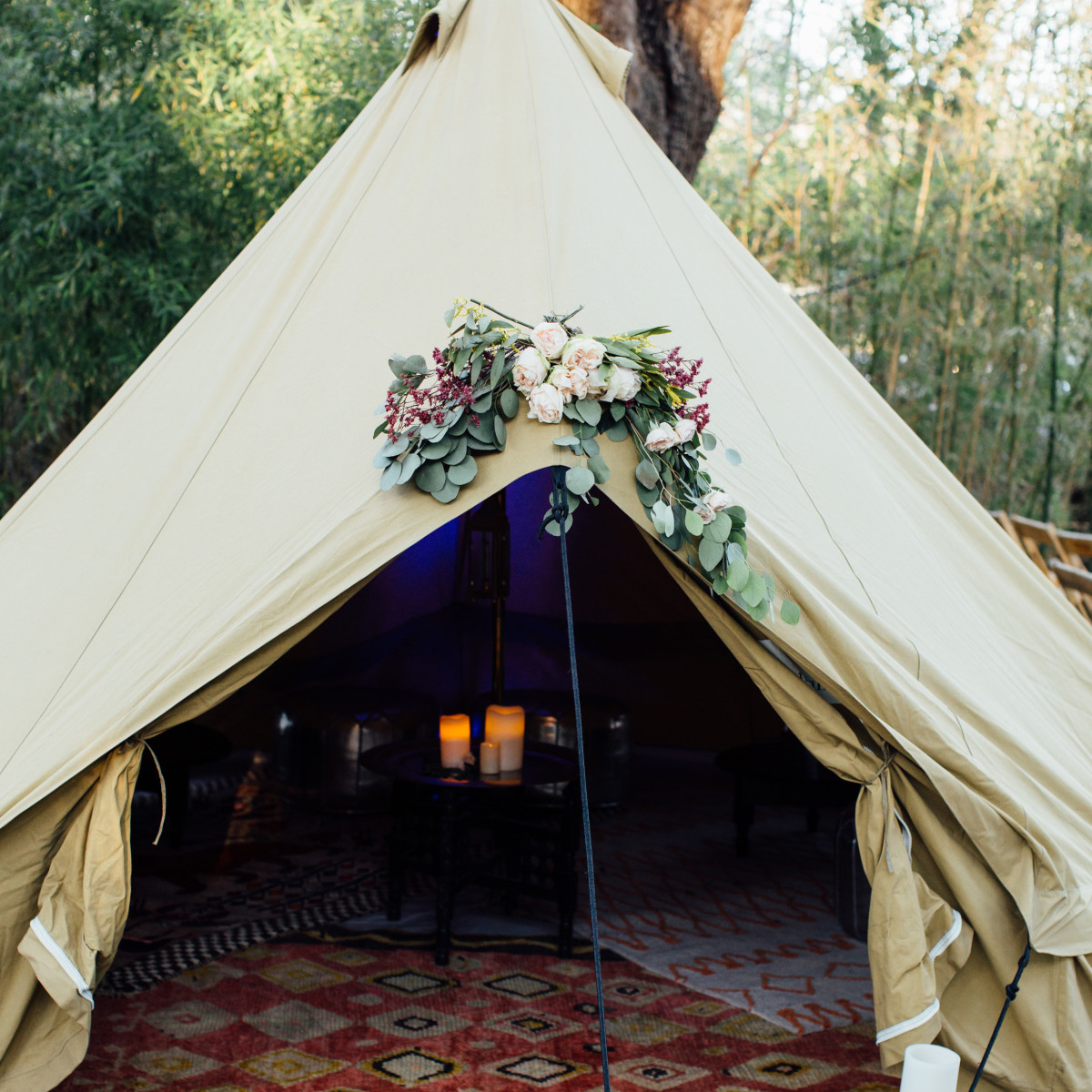 Euphoria Music and Camping Festival wedding 2017