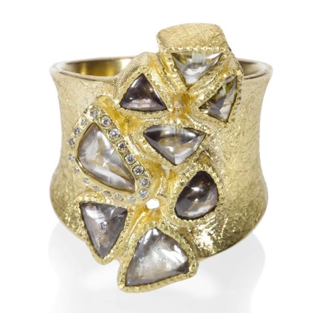 gold uncut diamond Todd Reed