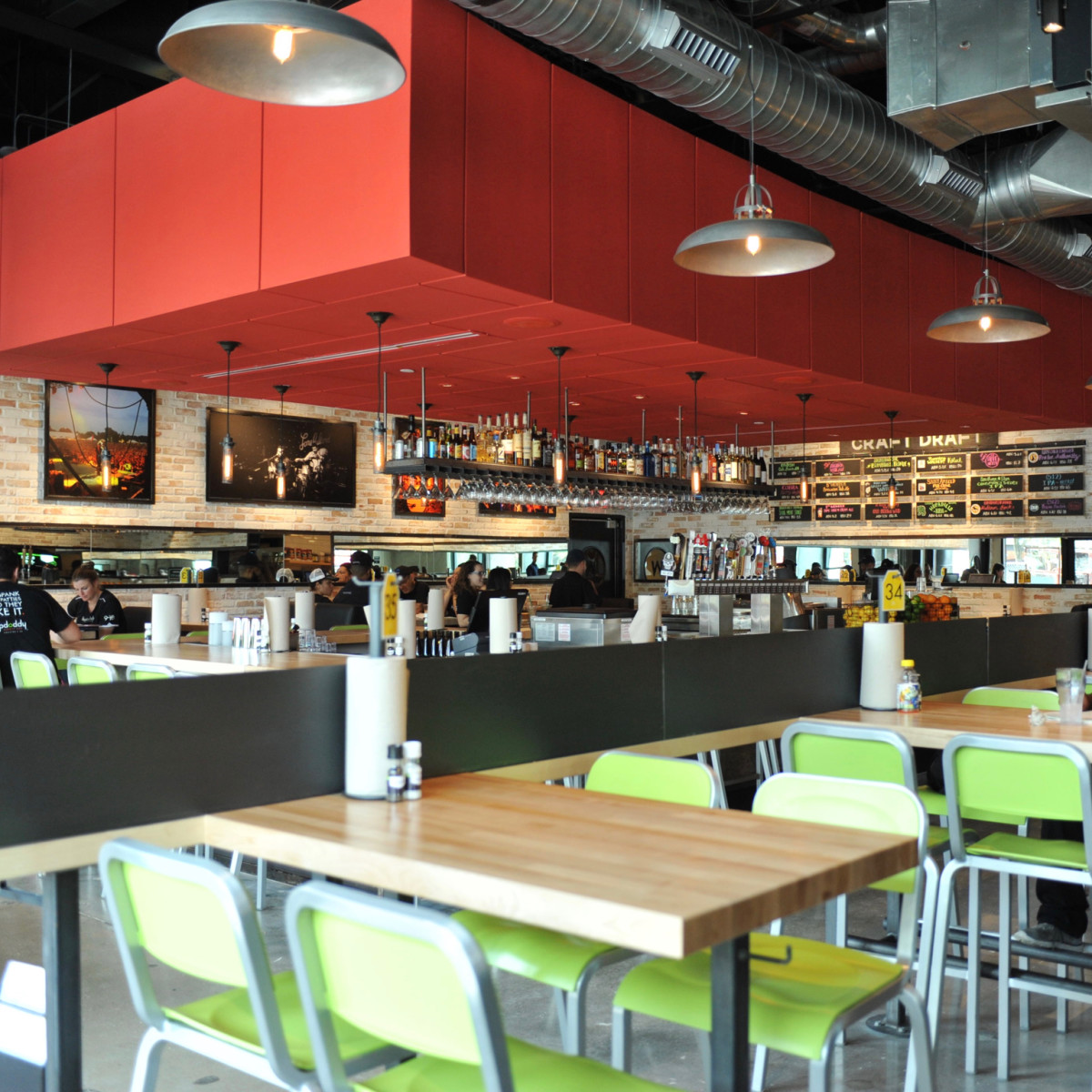 Hopdoddy Rice Village interior