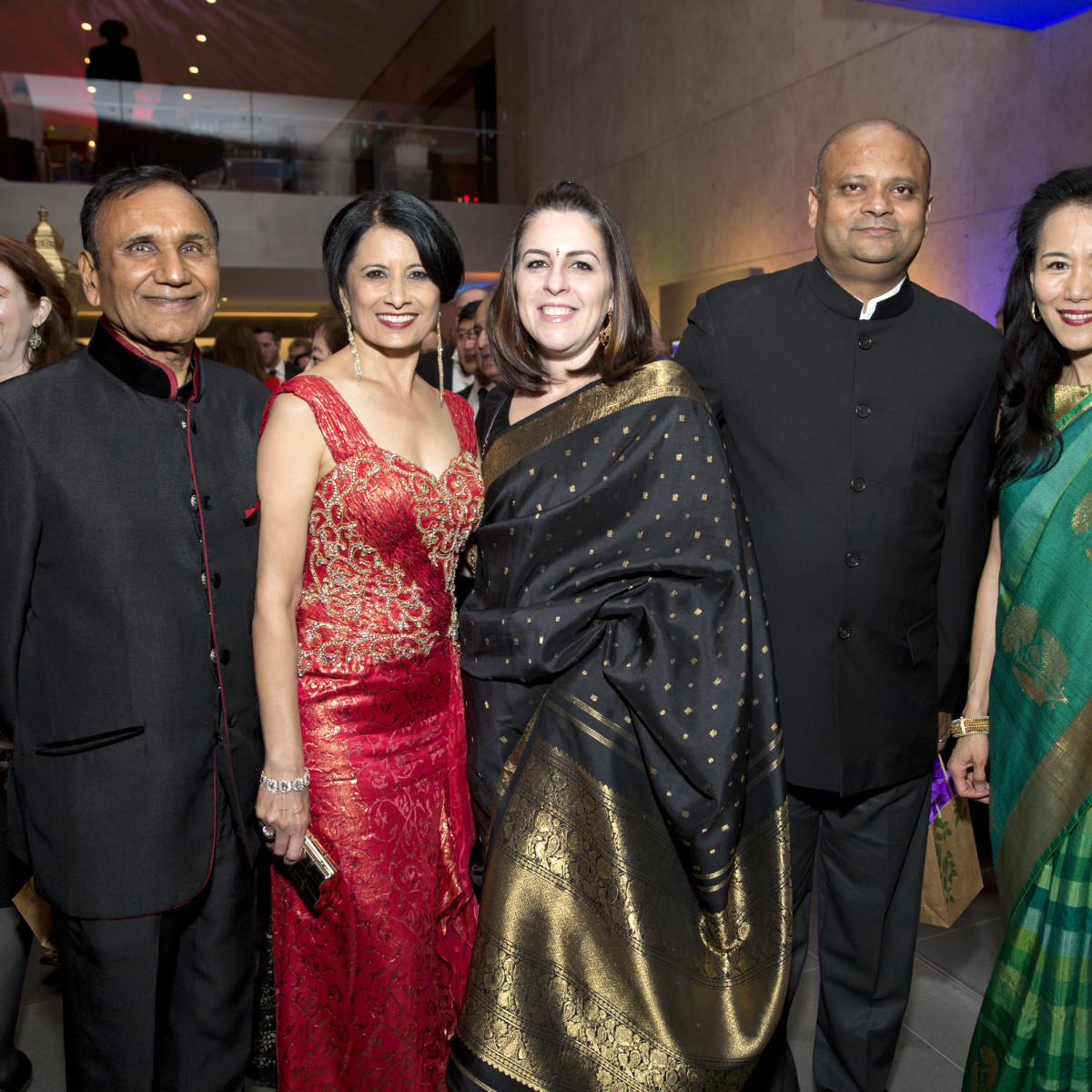 Houston, Tiger Ball, March 2017, Suresh Khator, Dr. Renu Khator, Dr. Amit Ray, consul general of India Anupam Ray, Y. Ping Sun