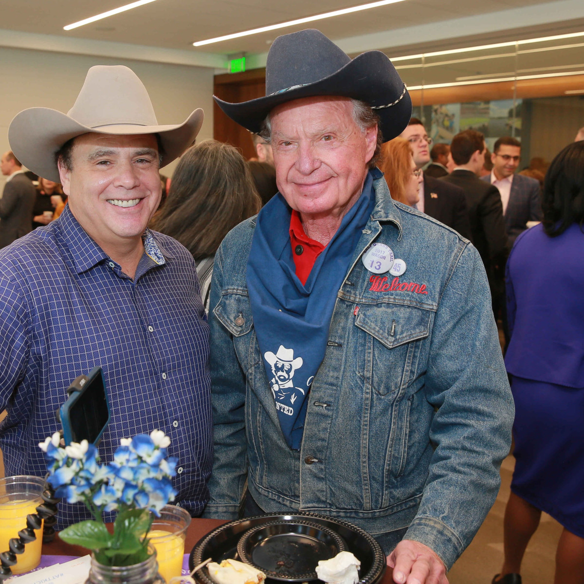 Bob Borochoff, Welcome Wilson at Mayor's Rodeo kickoff breakfast