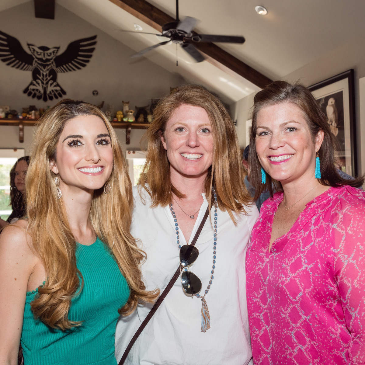 Lauren_Granello, Susan_Oehl, Lauren_Levicki_Courville at Women of Wardrobe spring fling 2017