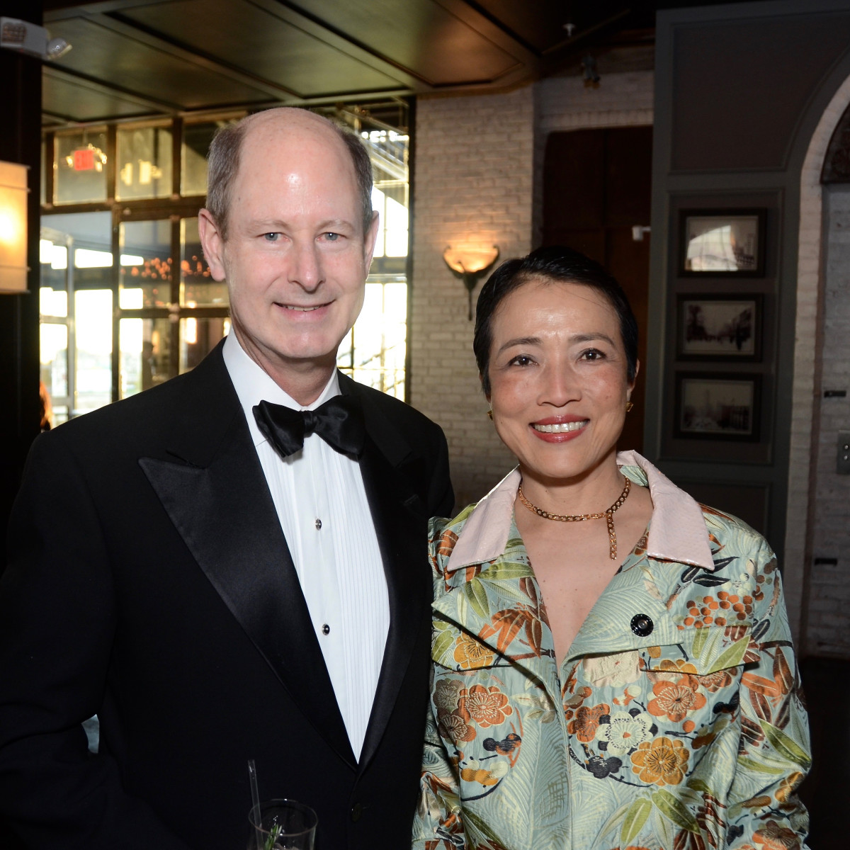 Eddie Allen, Chinhui Allen at 2017 Da Camera Gala