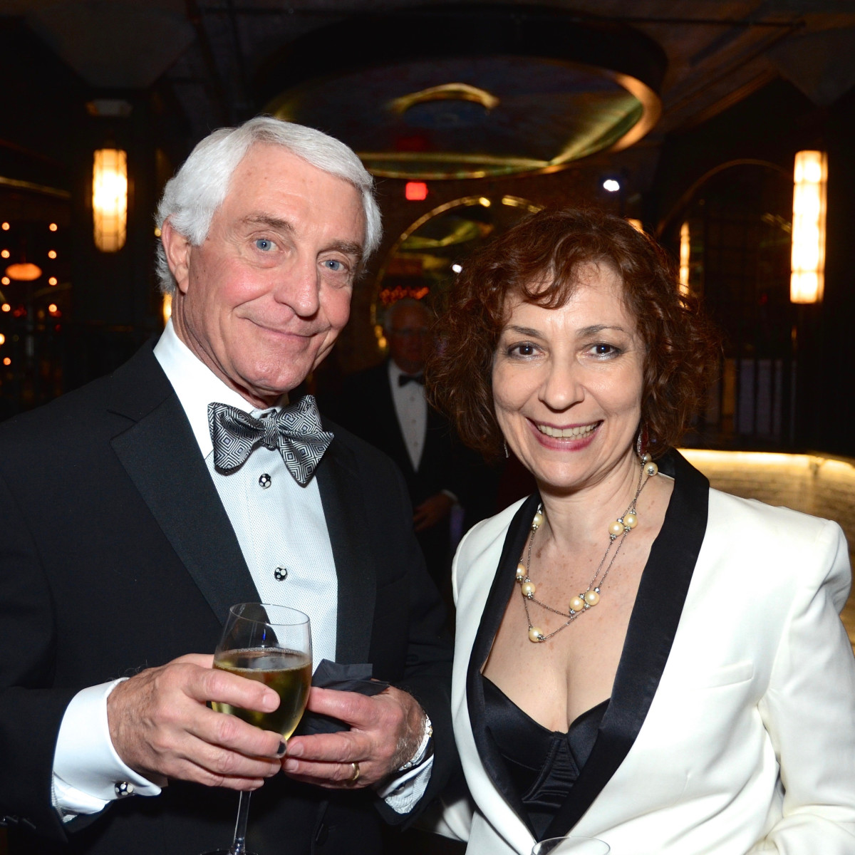 David Hatch, Sarah Rothenberg at Da Camera Gala