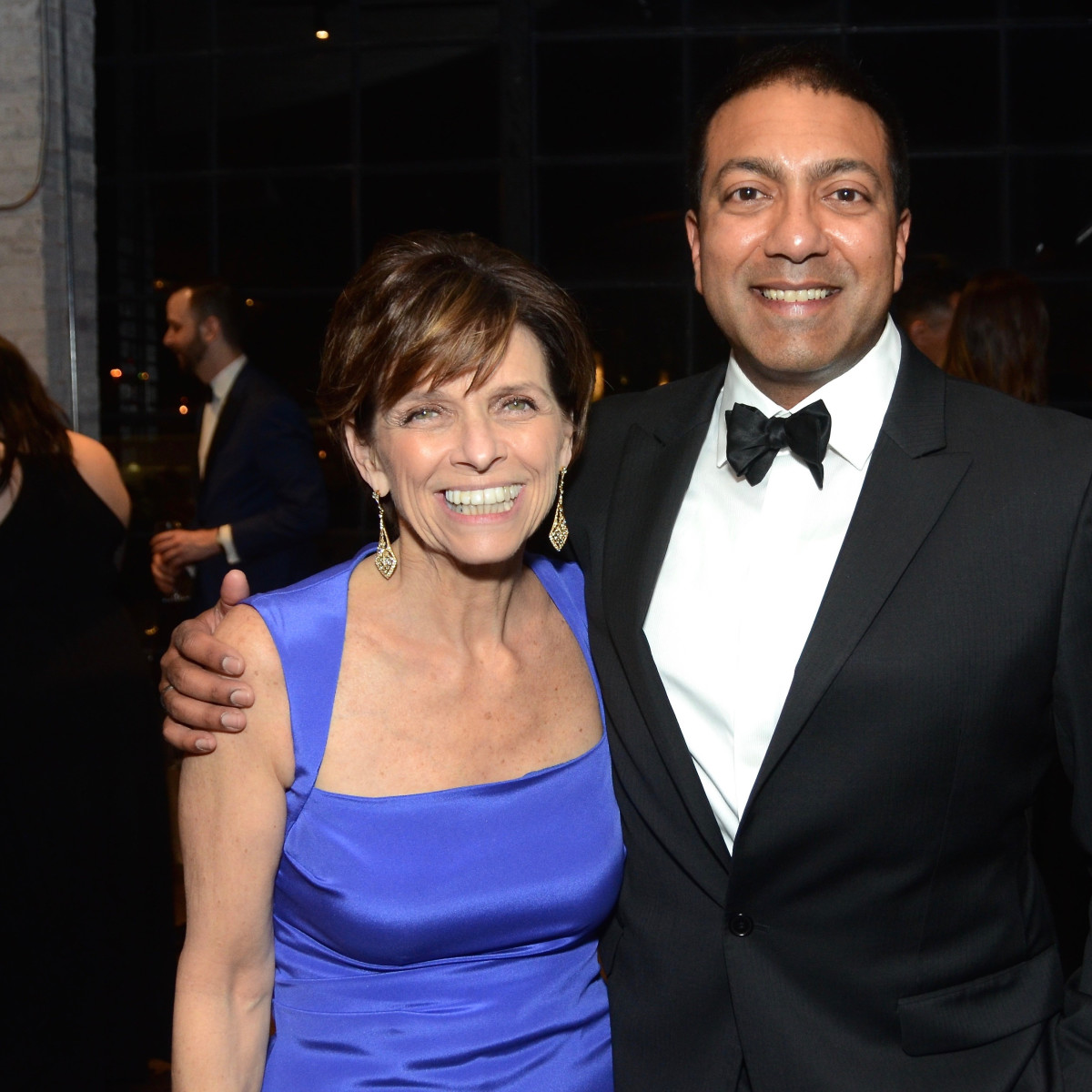 Kathryn McNiel; Ab Sengupta at Da Camera Gala