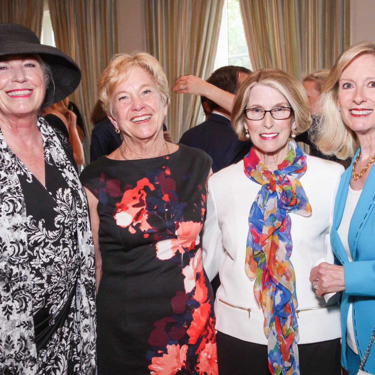 Karen Sponsel Adrian Ross Patty Pagel Janet Stanberry at MS On The Move luncheon