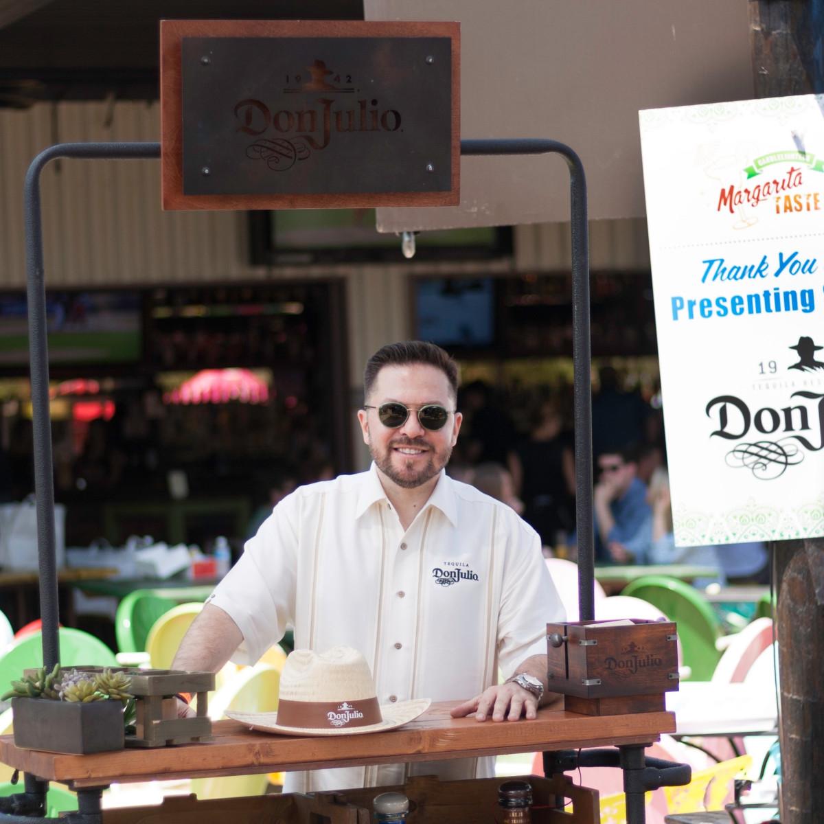 Jorge Raptis, Don Julio Presenting Sponsor at Margarita Taste-off