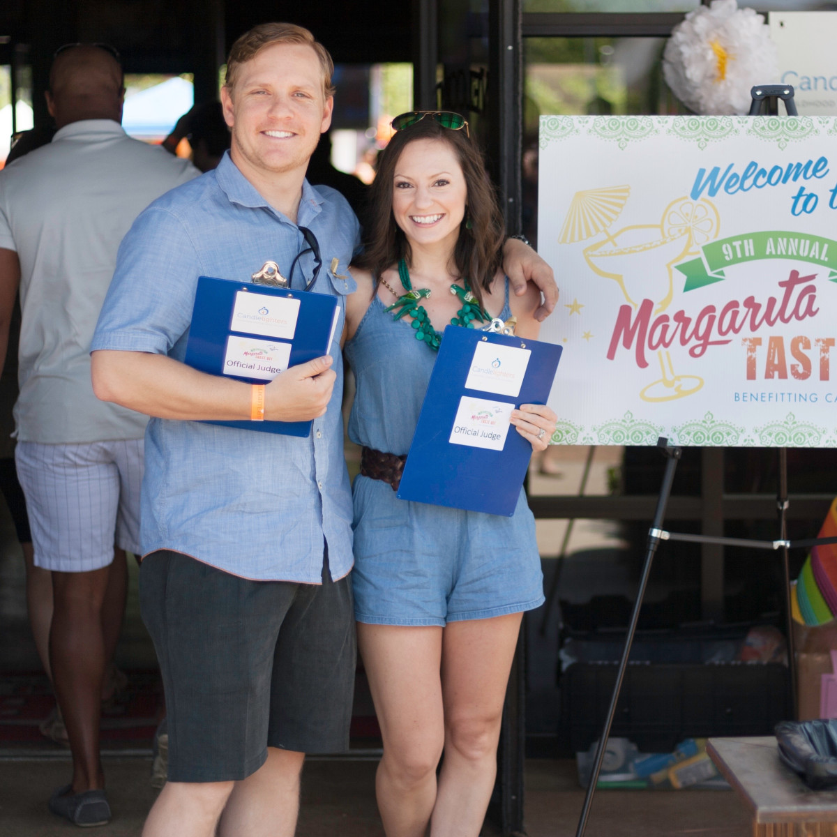 Margarita Taste-off, Judges Catherine and Colby Thomas