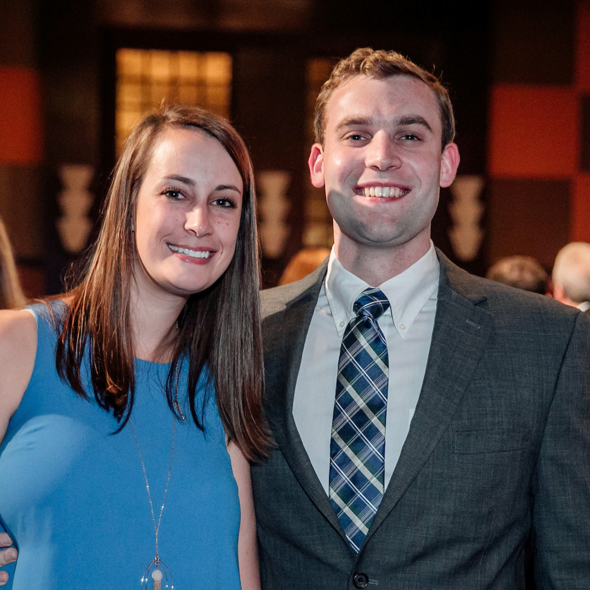 Houston, Space Center Houston Galaxy Gala, April 2017, Haley Leffler, Chris Calkins