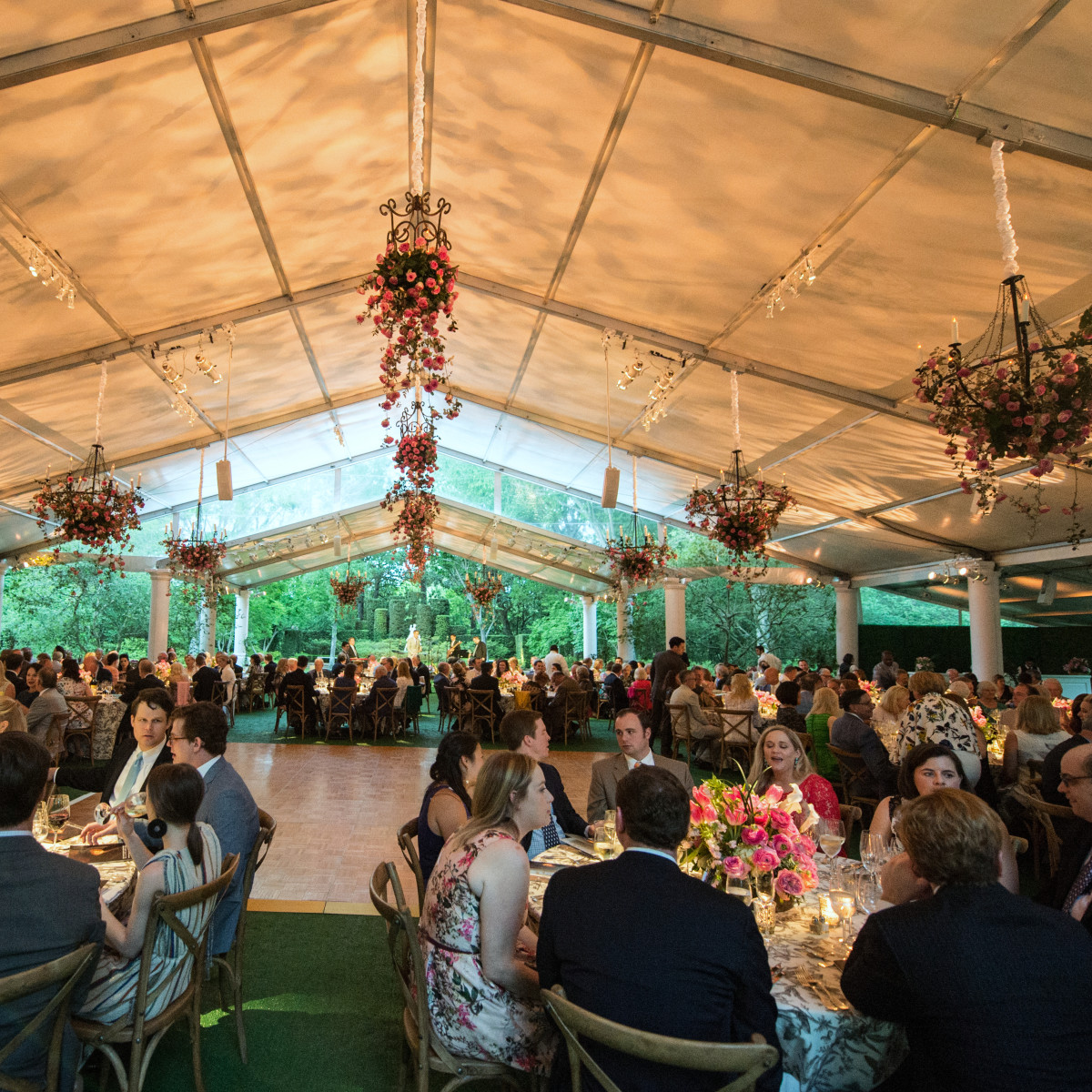 Houston, Bayou Bend Garden party, April 2017, Bayou Bend Garden Party decor