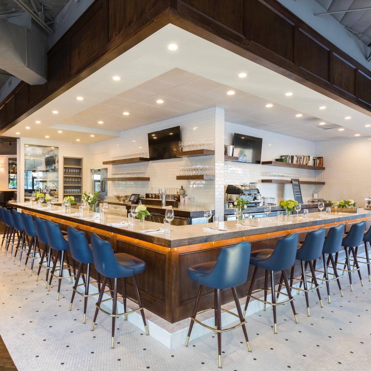 Relish restaurant interior